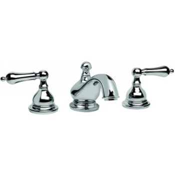 Graff G-1100-LM2-SN Atlantis Two Handle Widespread Bathroom Faucet - Steelnox (Pictured in Polished Chrome)