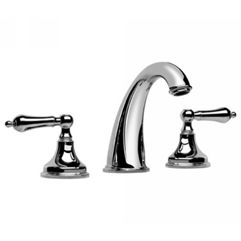 Graff G-1200-LM2-ORB Elegante Two Handle Widespread Bathroom Faucet - Oil Rubbed Bronze (Pictured in Polished Chrome)