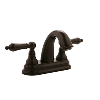 Graff G-1220-LM1-ORB Elegante Two Handle Centerset Bathroom Faucet - Oil Rubbed Bronze