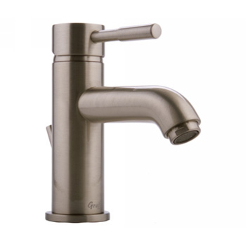 Graff G-1700-LM3-BN Perfeque One Handle Bathroom Faucet - Brushed Nickel