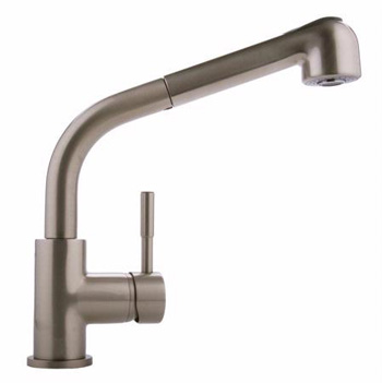 Graff G-4620-LM3-BN Perfeque One Handle Pull-Out Spray Kitchen Faucet - Brushed Nickel