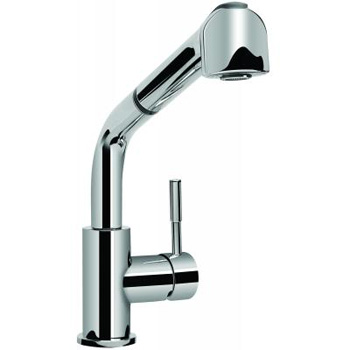 Graff G-4620-LM3-PC Perfeque One Handle Pull-Out Spray Kitchen Faucet - Polished Chrome