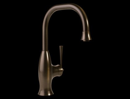 Graff G-4830-OB Bollero Single Handle Kitchen Faucet with Pull Down Spray - Olive Bronze