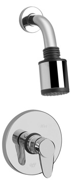 Graff G-7120-LM33S-BN Kobe Contemporary Pressure Balancing Shower Set - Brushed Nickel (Pictured in Polished Chrome)