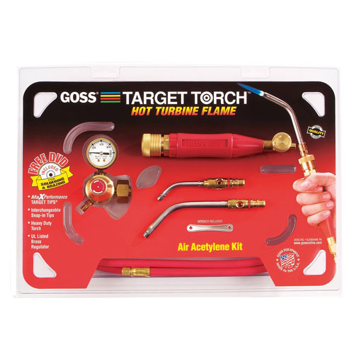 GOSS KX-4B Acetylene Target Torch Turbine Flame Kit