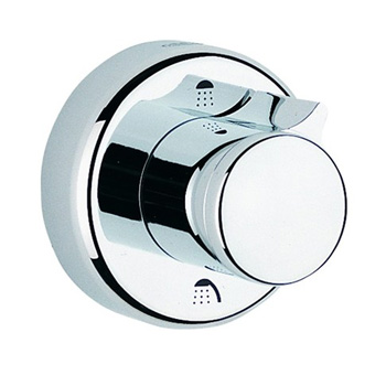 Grohe 19903 Grotherm 3000 3-Port Diverter Trim - Starlight Chrome