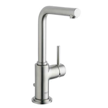 Grohe 32.006.EN1 Atrio 7� Single Lever Lavatory Centerset Faucet - Infinity Brushed Nickel