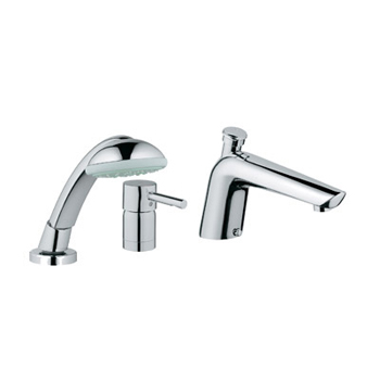 Grohe 32.232.EN0 Essence Roman Tub Filler with Personal Hand Shower - Infinity Brushed Nickel (Pictured in Starlight Chrome)