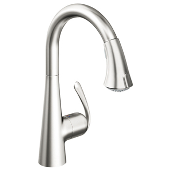 Grohe 32.298.SDE Ladylux3 Main Sink Dual Spray Pull-Down Faucet - Stainless Steel