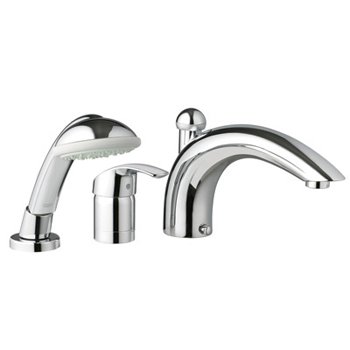 Grohe 32.644.EN1 Eurosmart Roman Tub Filler with Personal Hand Shower - Infinity Brushed Nickel (Pictured in Starlight Chrome)