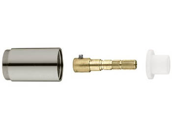 Grohe 45.565.AV0 Seabury/Geneva Volume Control Extension Kit - Satin Nickel