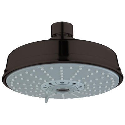 Grohe 27.130.ZB0 Rain Shower Rustic Shower Head - Oil Rubbed Bronze