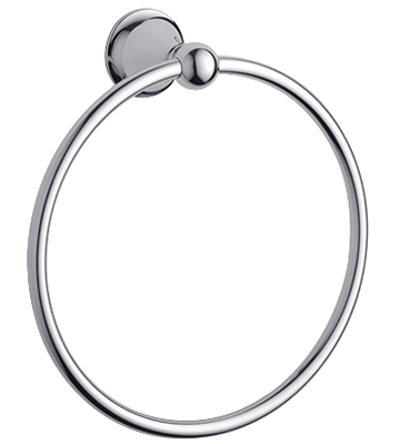 Grohe 40.158.000 Seabury Towel Ring - Chrome