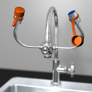 Guardian Equipment G1101 Faucet-Mounted Eye Wash