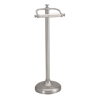 Gatco GC1436SN Charlotte Series Toilet Paper Holder Stand - Satin Nickel