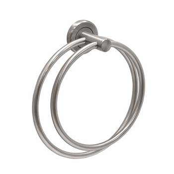 Gatco 4292A Latitude� Double Towel Ring - Satin Nickel