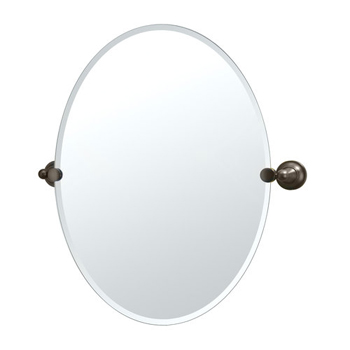 Gatco GC4349 Tiara Series Oval Mirror - Oil Rubbed Bronze
