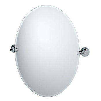 Gatco GC4359 Charlotte Series Oval Mirror - Chrome