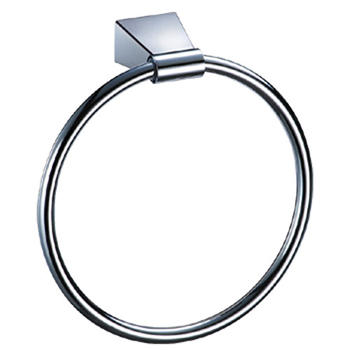 Gatco GC4712 Bleu Series Wall Mounted Towel Ring - Chrome