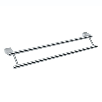 Gatco GC4714 Bleu Series Double Towel Bar - Chrome