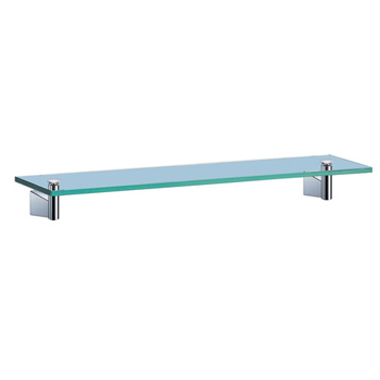Gatco GC4716 Bleu Series Glass Shelf - Chrome