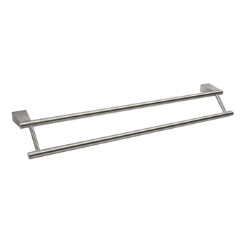 Gatco GC4734 Bleu Series Double Towel Bar - Satin Nickel