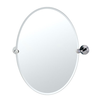 Gatco GC5239 Marina Series Oval Mirror - Chrome