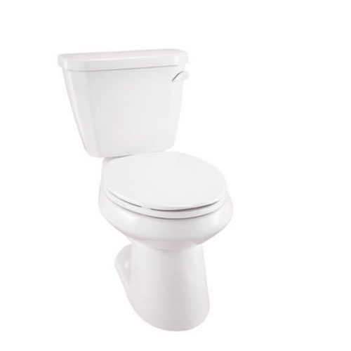 Gerber WS-21-512-97 Viper 1.28 gpf 12 in Rough-In Two-Piece Elongated Toilet with Right Hand Tank Lever - White