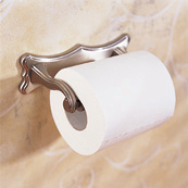 Ginger 0708A/PC Circa Double Post Toilet Tissue Holder - Chrome (Pictured in Satin Nickel)