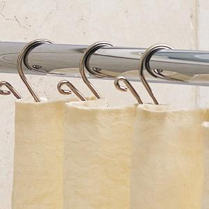 Ginger 1139R-6-26 6 Foot Shower Rod - Polished Chrome