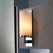 Ginger 2881/SN Surface Single Light - Satin Nickel (Pictured in Chrome)