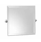 Ginger 4541/SN Columnar Small Mirror - Satin Nickel (Pictured in Chrome)