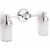 Ginger 4582/PC Columnar Double Light - Chrome