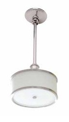 Ginger 4586/PC Columnar Large Pendant Light - Polished Chrome