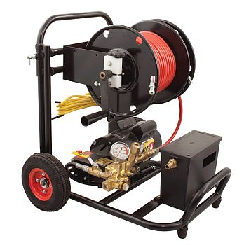 Gorlitz GO1500WT 2 HP Electric Jetter with Water Tank Air Gap - 2.1 GPM