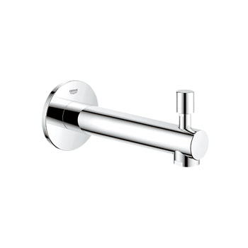 Grohe 13.275.EN1 Concetto Diverter Tub Spout - Brushed Nickel (Pictured in Chrome)