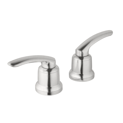 Grohe 18.085.EN0 Volo Lever Handles - Infinity Brushed Nickel (Sold in Pairs)