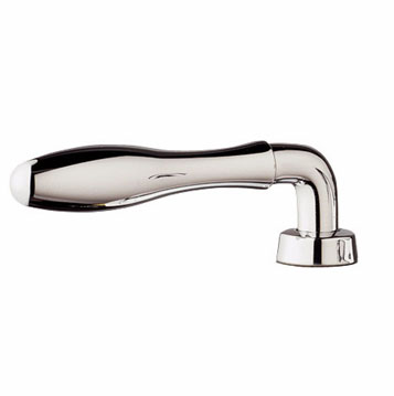 Grohe 18.732.BE0 Seabury Lever Handles - Sterling (Pictured in Chrome)