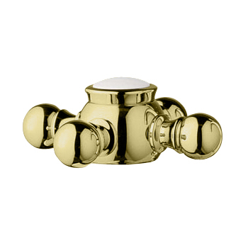 Grohe 18.733.R00 Geneva Cross Handle - Infinity Polished Brass