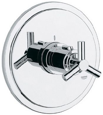 Grohe 19.169.000 Atrio Thermostat Trim - Chrome