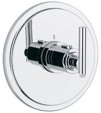 Grohe 19.170.000 Atrio Thermostat Trim with Lever Handle - Chrome