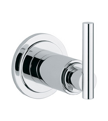 Grohe 19.182.000 Atrio Volume Control Trim with Lever Handle - Chrome