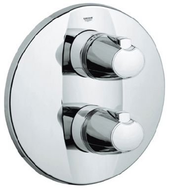 Grohe 19.256.000 Grotherm 3000 Integrated Thermostat Trim - Chrome