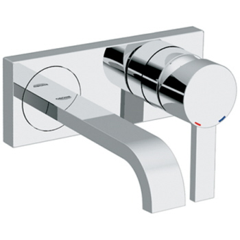 grohe allure single handle wall mount vessel lavatory faucet trim only chrome