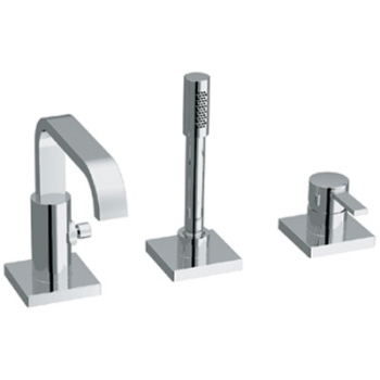 Grohe 19.302.000 Allure Roman Tub Filler with Personal Handshower - Chrome