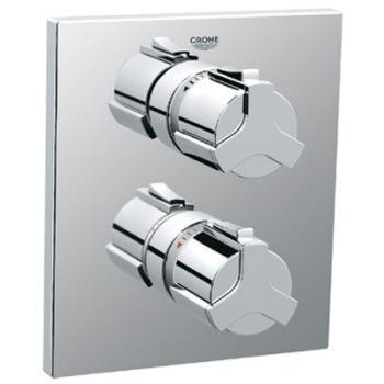 Grohe 19.304.000 Allure Integrated Shower Thermostat Trim - Chrome