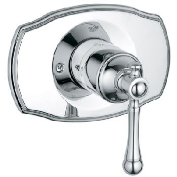 Grohe 19.328.000 Bridgeford Pressure Balance Valve Trim - Chrome