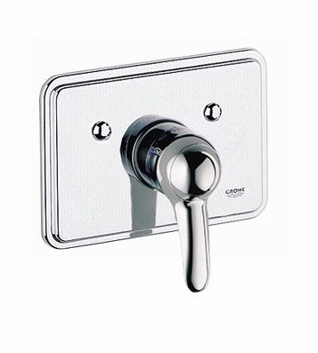 Grohe 19.690.RR0 Talia Thermostat Trim - Velour Chrome/Chrome (Pictured in Chrome)