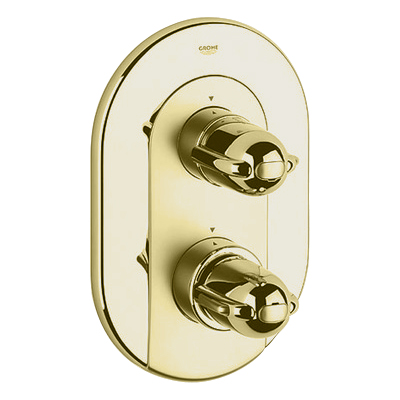 Grohe 19.692.R00 Grohtherm 3000 Integrated Shower Thermostat Trim - Polished Brass