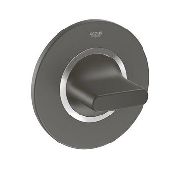 Grohe 19 439 KS0 Veris Volume Control Trim - Velvet Black